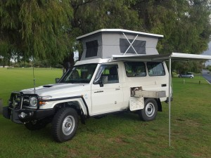 Troopy 4x4 Campervan Perth