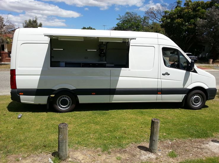 Lunch Truck For Sale >> Food Vans - Dove Camper Conversions