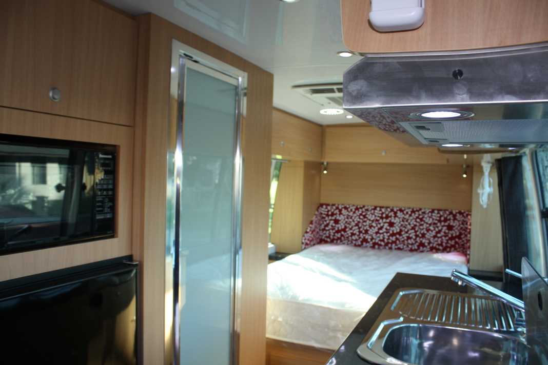 Coaster Dove Camper Conversions