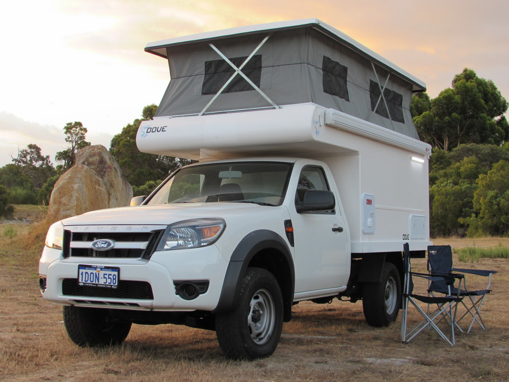 Slide-on ute camper
