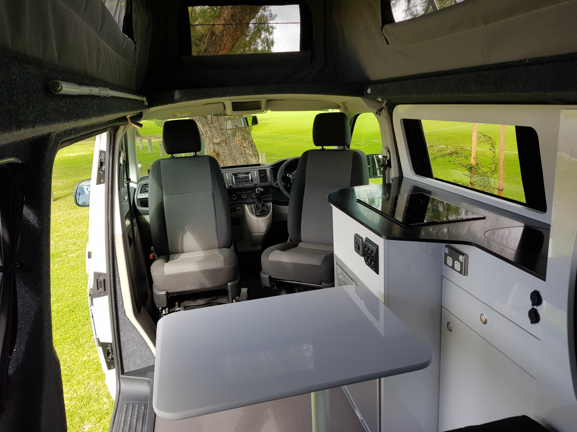 Vw Transporter T6 Dove Camper Conversions