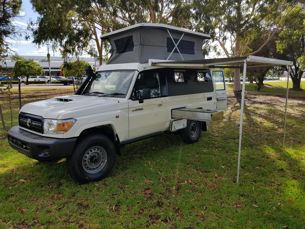 Campervans For Sale >> Toyota LandcruiserDove Camper Conversions