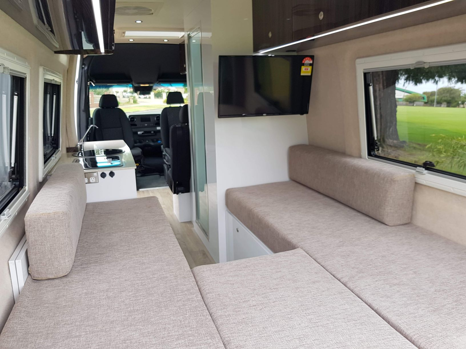 Mercedes Sprinter Dove Camper Conversions
