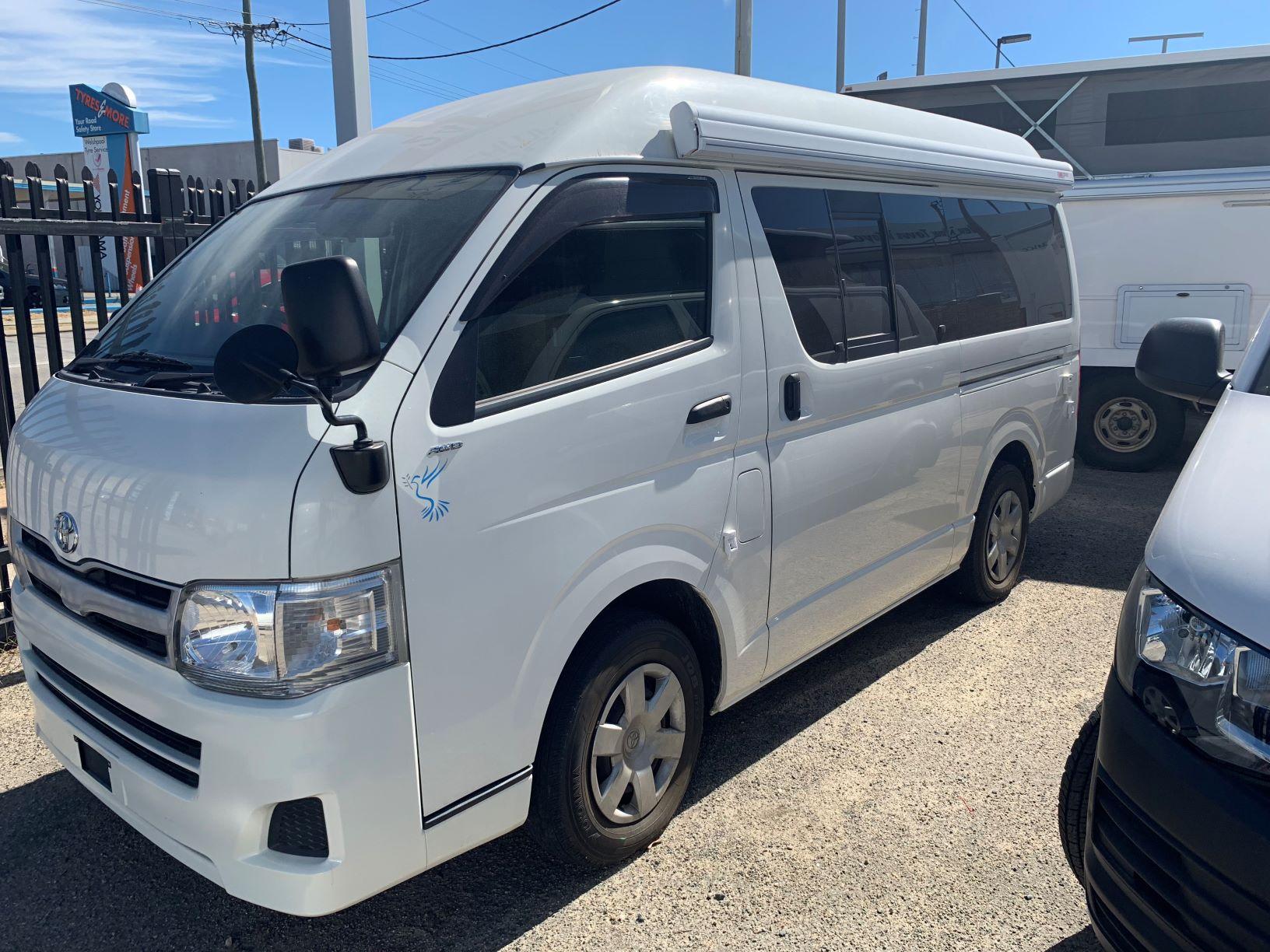 AWD Toyota Hiace Campervan - Dove Camper Conversions